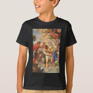 Camiseta Cena do baptismo na basílica de San Pietro,