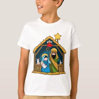Camiseta Cena do estábulo da natividade