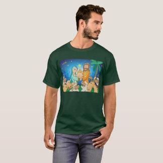 Camiseta Cena doce da natividade do bebê Jesus