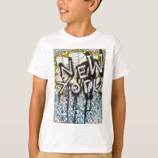Camiseta Cena dos grafites de New York