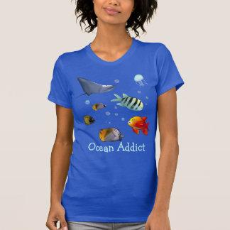 Camiseta Cena subaquática