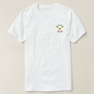 Camiseta Cenoura do vegetariano x de Yung