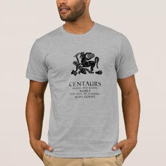 Camiseta Centauros e revisão paritária