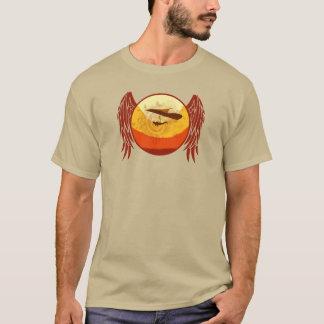 Camiseta Central do DESLIZAMENTO de CAIR HG-CIRCLE 005