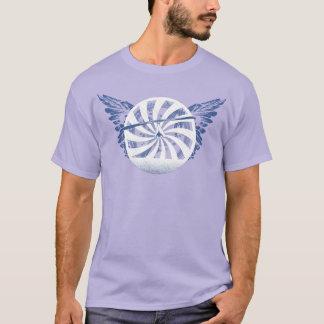 Camiseta Central do DESLIZAMENTO de CAIR HG-CIRCLE 007