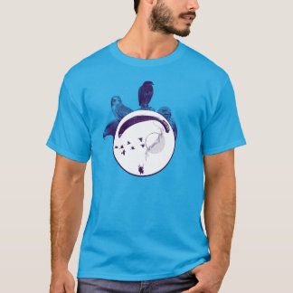 Camiseta Central do PARAPENTE PG-CIRCLE 001 Ponto