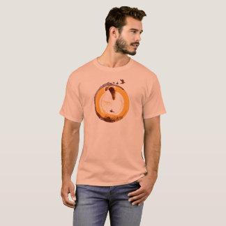 Camiseta Central do PARAPENTE PG-CIRCLE 002 Ponto