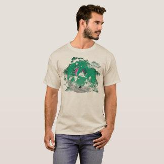 Camiseta Central do PARAPENTE PG-CIRCLE 003 Ponto