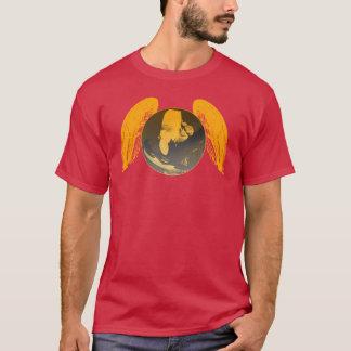 Camiseta Central do PARAPENTE PG-CIRCLE 004 Ponto