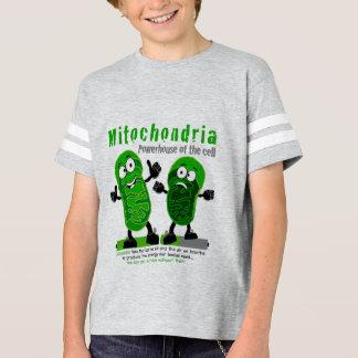 Camiseta Central eléctrica das mitocôndria da pilha