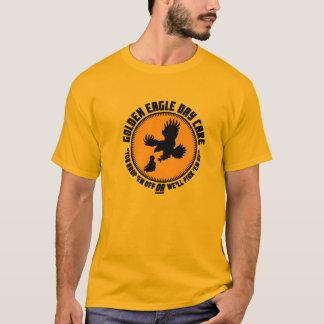 Camiseta Centro de dia de Eagle dourado