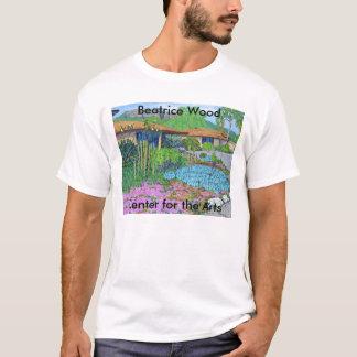 Camiseta Centro de madeira de Beatrice para o t-shirt das