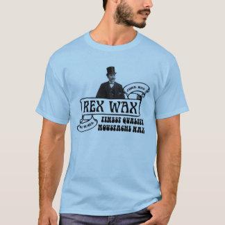 Camiseta Cera de Rex: T-shirt Handmade da cera do Moustache