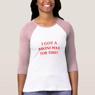 Camiseta cera do biquini