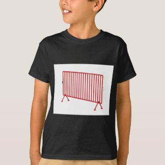 Camiseta Cerca móvel vermelha