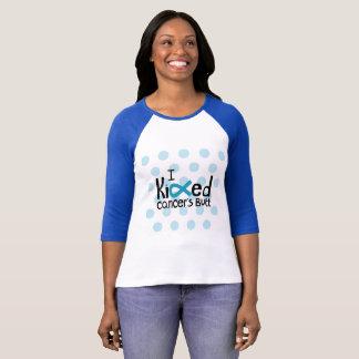 Camiseta Cerceta do sobrevivente do cancer