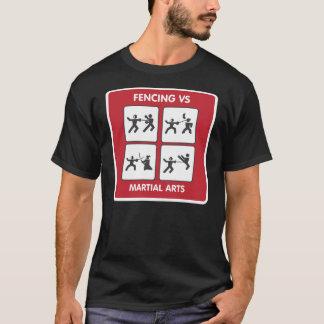 Camiseta Cerco contra artes marciais