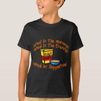 Camiseta Cereal todo o tempo