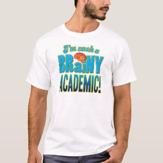 Camiseta Cérebro Brainy académico