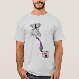 Camiseta cérebro do koala