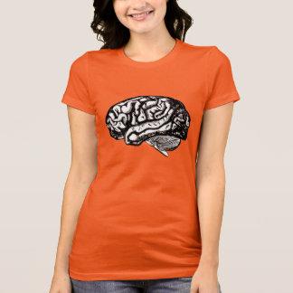 Camiseta cérebro humano