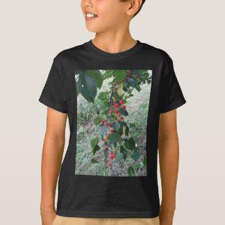 Camiseta Cerejas vermelhas de Montmorency na árvore no
