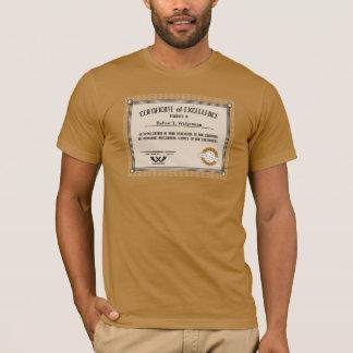 Camiseta CERT feito sob encomenda da excelência do