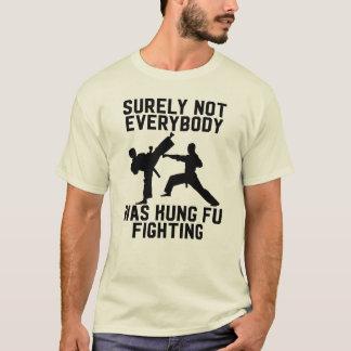 Camiseta Certamente não todos era luta do fu do kung