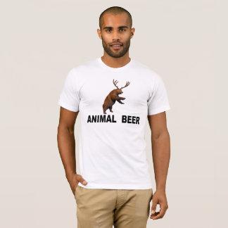 Camiseta Cerveja animal