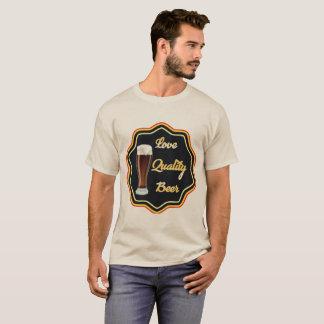 Camiseta Cerveja da qualidade do amor