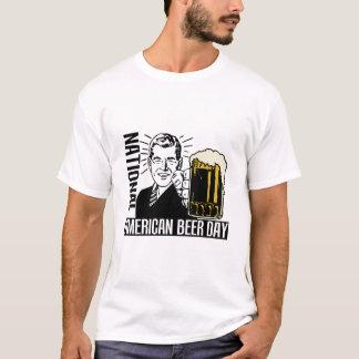 Camiseta Cerveja dia o 27 de outubro americano nacional