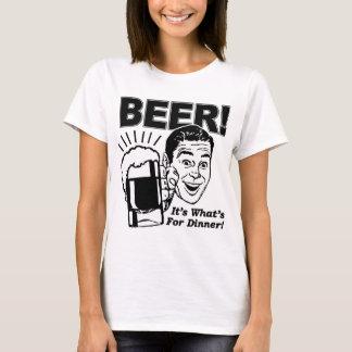 Camiseta Cerveja é o que é para o comensal