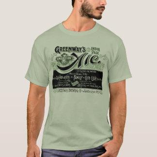 Camiseta Cerveja inglesa pálida de India dos Greenways da