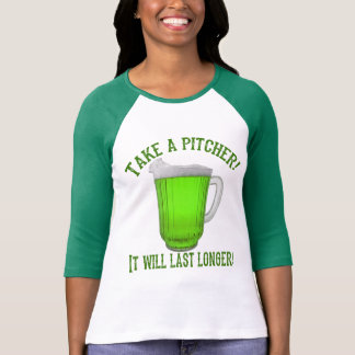 Camiseta Cerveja verde irlandesa engraçada