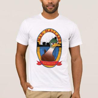 Camiseta Cervejaria louca do pato selvagem básica