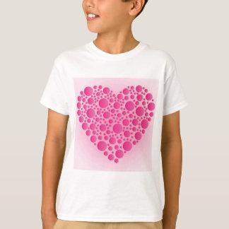 Camiseta Cervo cor-de-rosa da bolha