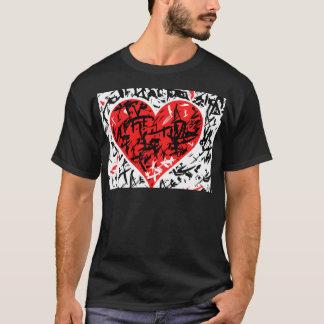Camiseta Cervo vermelho - teste padrão do dia dos namorados