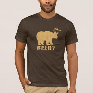 Camiseta Cervos = cerveja do urso? T bêbedo do campónio