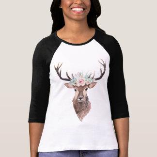 Camiseta Cervos com coroa dos cactos