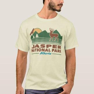 Camiseta Cervos de mula do parque nacional de jaspe