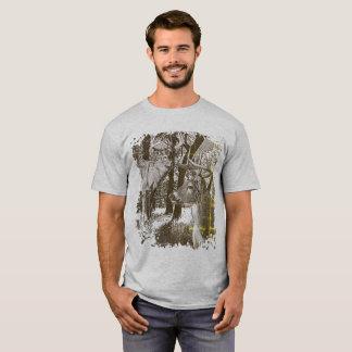 Camiseta Cervos de WhiteTail, fanfarrões alertas,