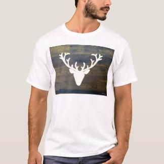 Camiseta Cervos do estilo do chalé de Alpen