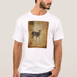 Camiseta Cervos do fanfarrão do whitetail do outdoorsman do