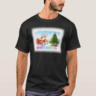 Camiseta Cervos do Feliz Natal