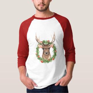 Camiseta Cervos do Natal