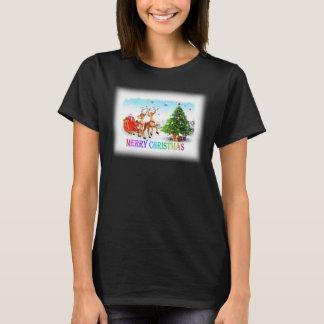 Camiseta Cervos g do Feliz Natal