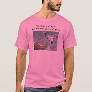 Camiseta cervos - para fechar seus olhos…
