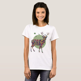 Camiseta Cervos tribais
