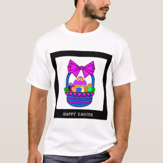 Camiseta Cesta da páscoa (feriado)