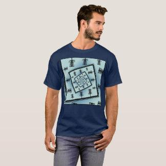 Camiseta Cestas de giro do golfe do disco